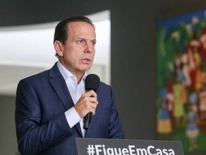 Governador de Sao Paulo prorroga quarentena até dia 22 em todo o Estado