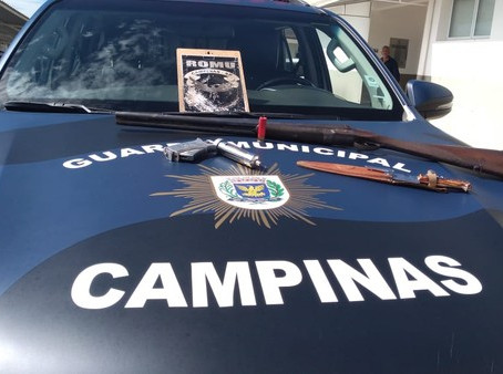 Guarda de Campinas apreende ônibus rural sequestrado por detentos foragidos de Porto Feliz