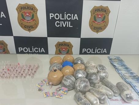 Idoso e cadeirante são presos por tráfico de drogas na Rodovia dos Bandeirantes, em Campinas