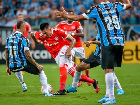 Primeiro Gre-Nal da Libertadores acaba empatado e com oito expulsões