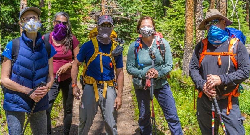 June hikers