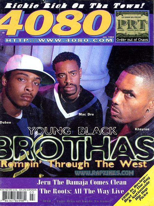 4080 Magazine #35 Mac Dre Dubee Khayree