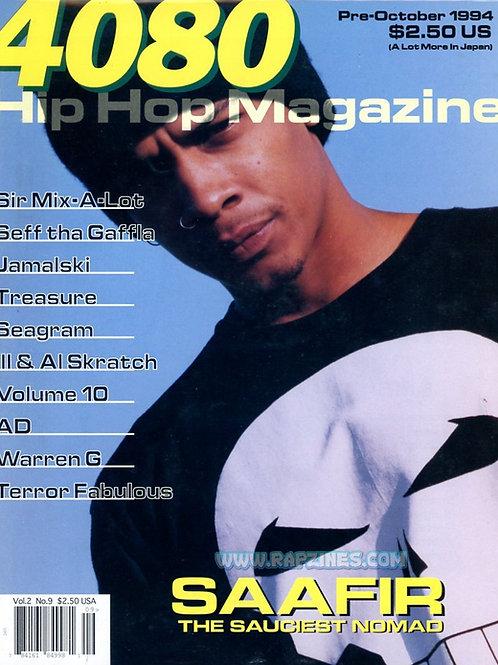 4080 Magazine October 1994 Saafir