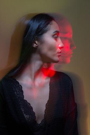 Model Lidia Flores by portrait photographer Trine Thybo