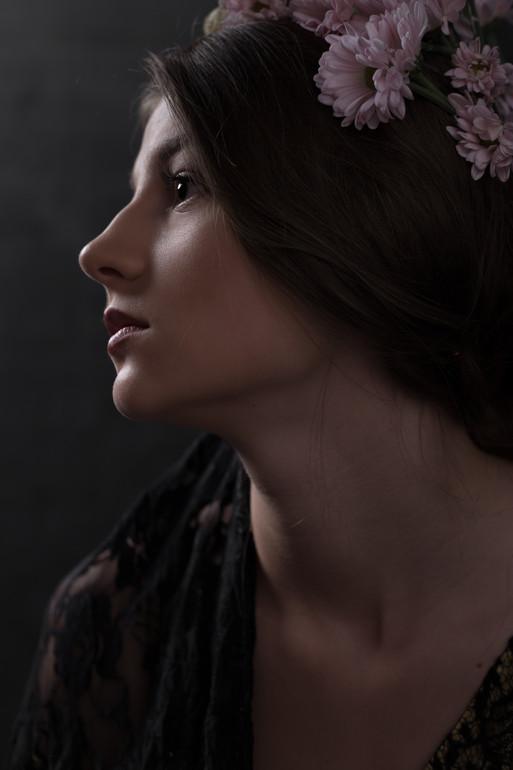 Model Tatiana Murawska by portrait photographer Trine Thybo, Milan Photo Shoot.
