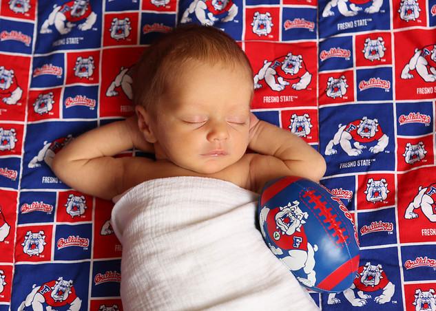 Newborn Baby Boy Portrait