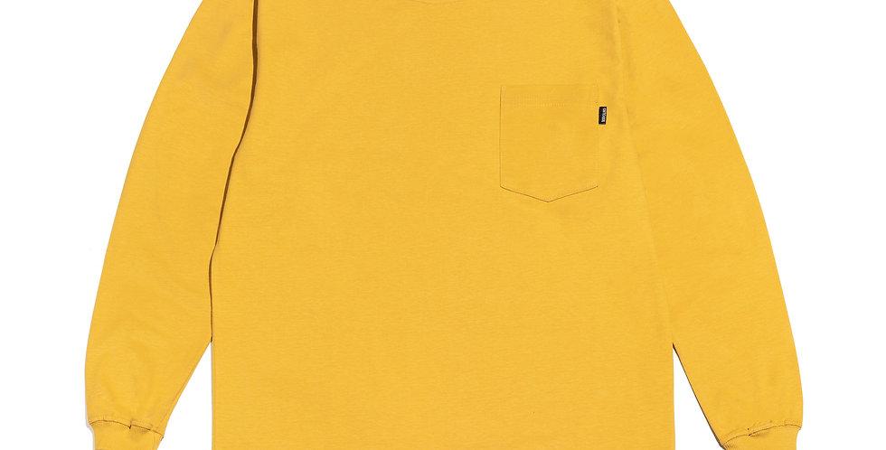 Camiseta c/ Bolso (mostarda)
