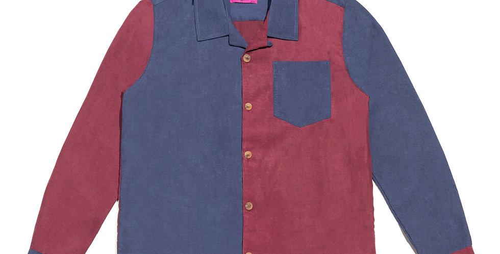 Camisa (azul/vinho)