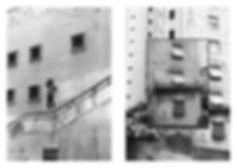cidade de são paulo foto colagem janelas