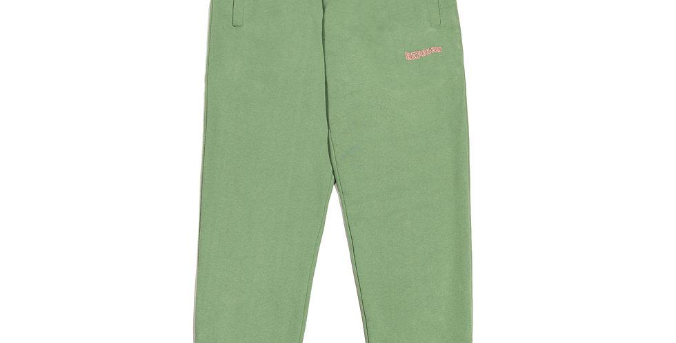 Calça de moletom (verde)