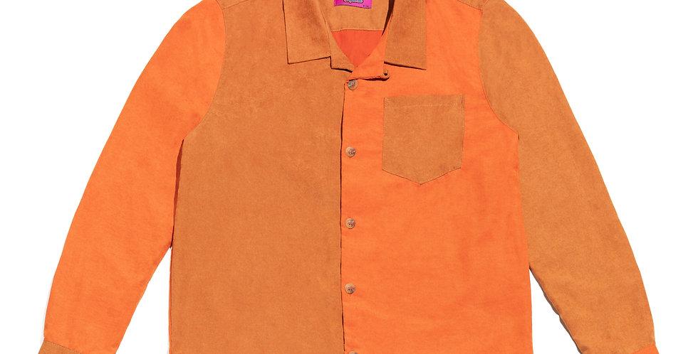 Camisa (marrom/laranja)