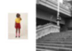 jorge escalando um poste foto tirada de camera analogica