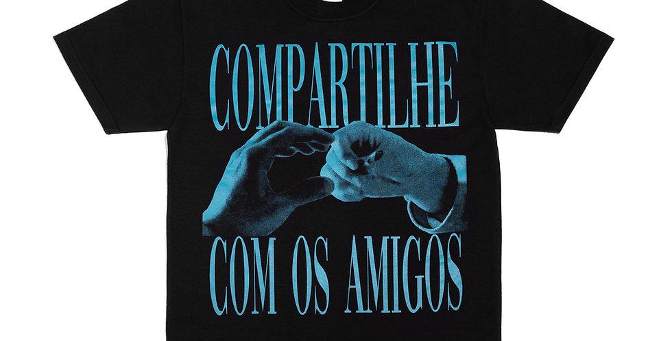 Camiseta Compartilhe