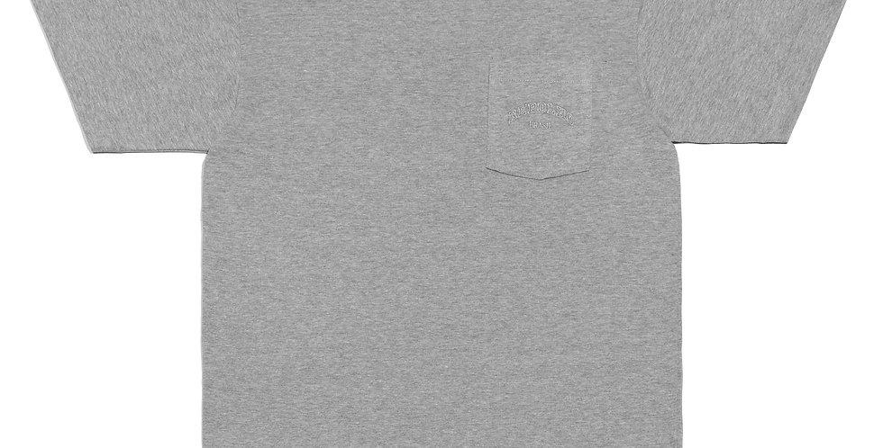 Camiseta c/ Bolso (cinza mescla)