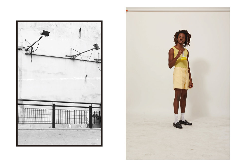 foto lookbook jorge shot amarelo