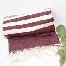 Burdandy Turkish Towel