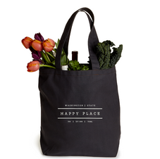 Happy Place small tote