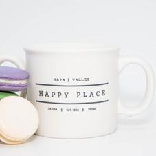 Napa Valley Happy Place Mug