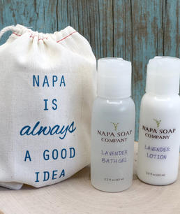 Soap & Lotion welcome