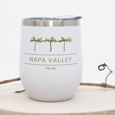 Napa Valley Vines Steel Tumbler