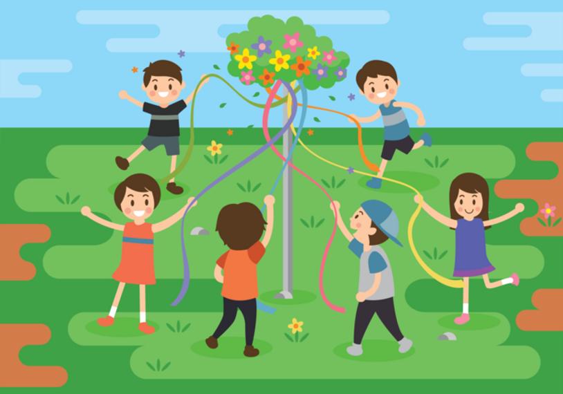 Maypole Dance - Tree Dance