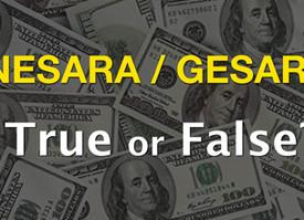 NESARA (GESARA) - True or False?