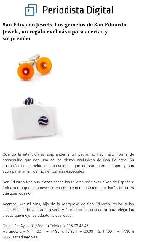 San Eduardo Jewels en Periodista Digital