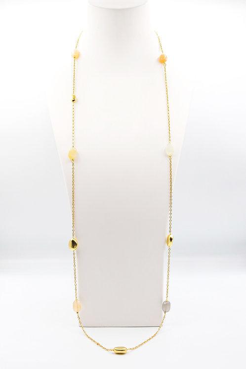 Collar Oro Amarillo 18 kt.