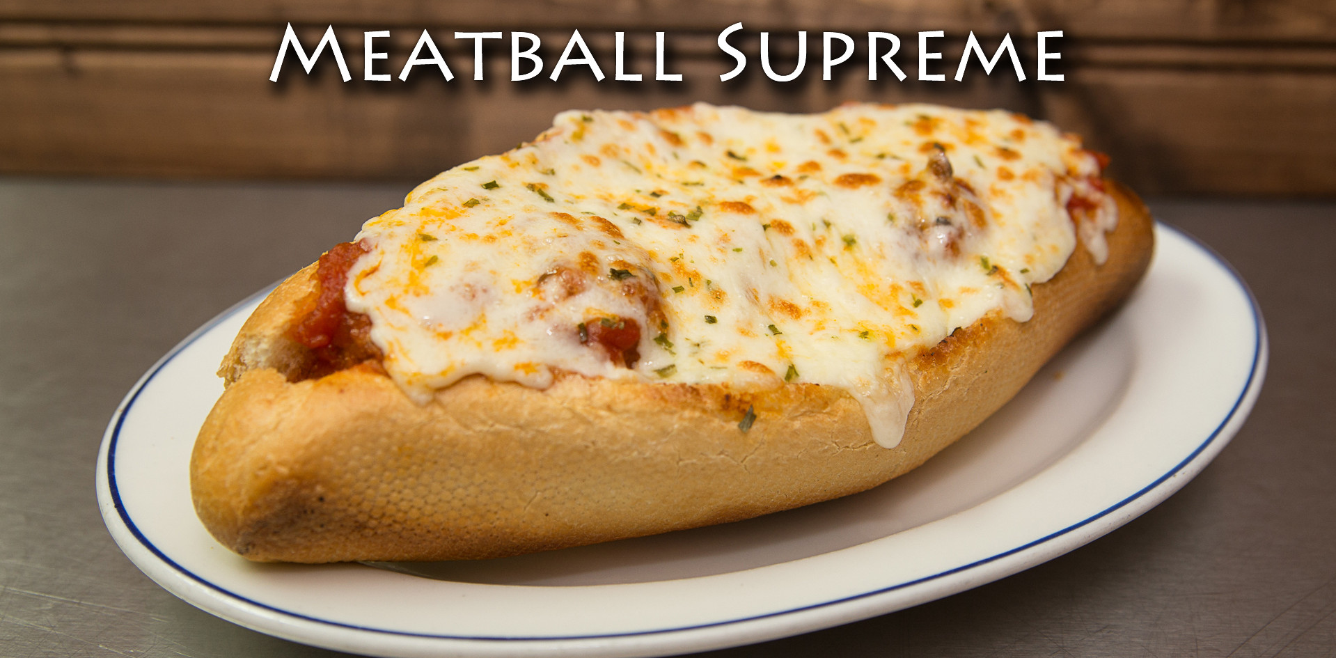 Meatball Supreme Sandwich