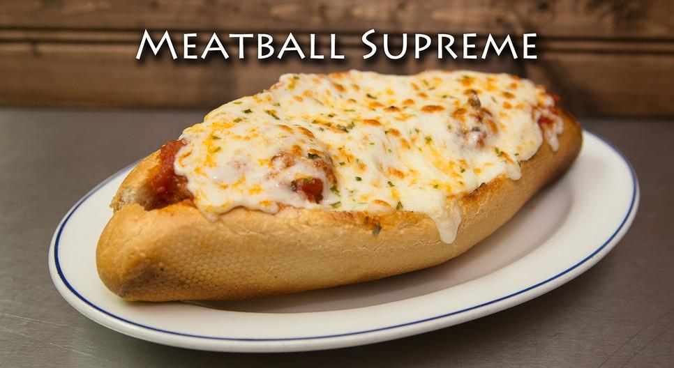 Meatball Supreme Sandwich