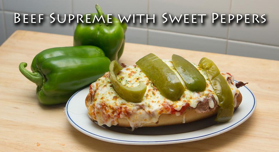 Italian Beef Supreme Sandwich