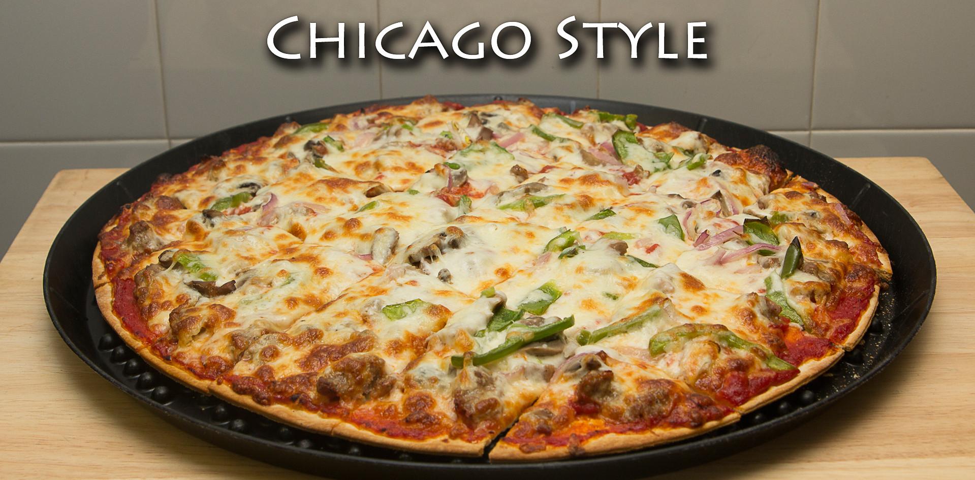 Chicago Thin Crust Pizza
