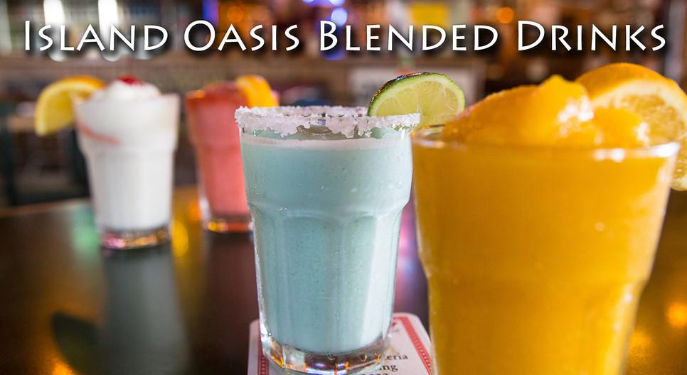 Island Oasis Blended Drinks