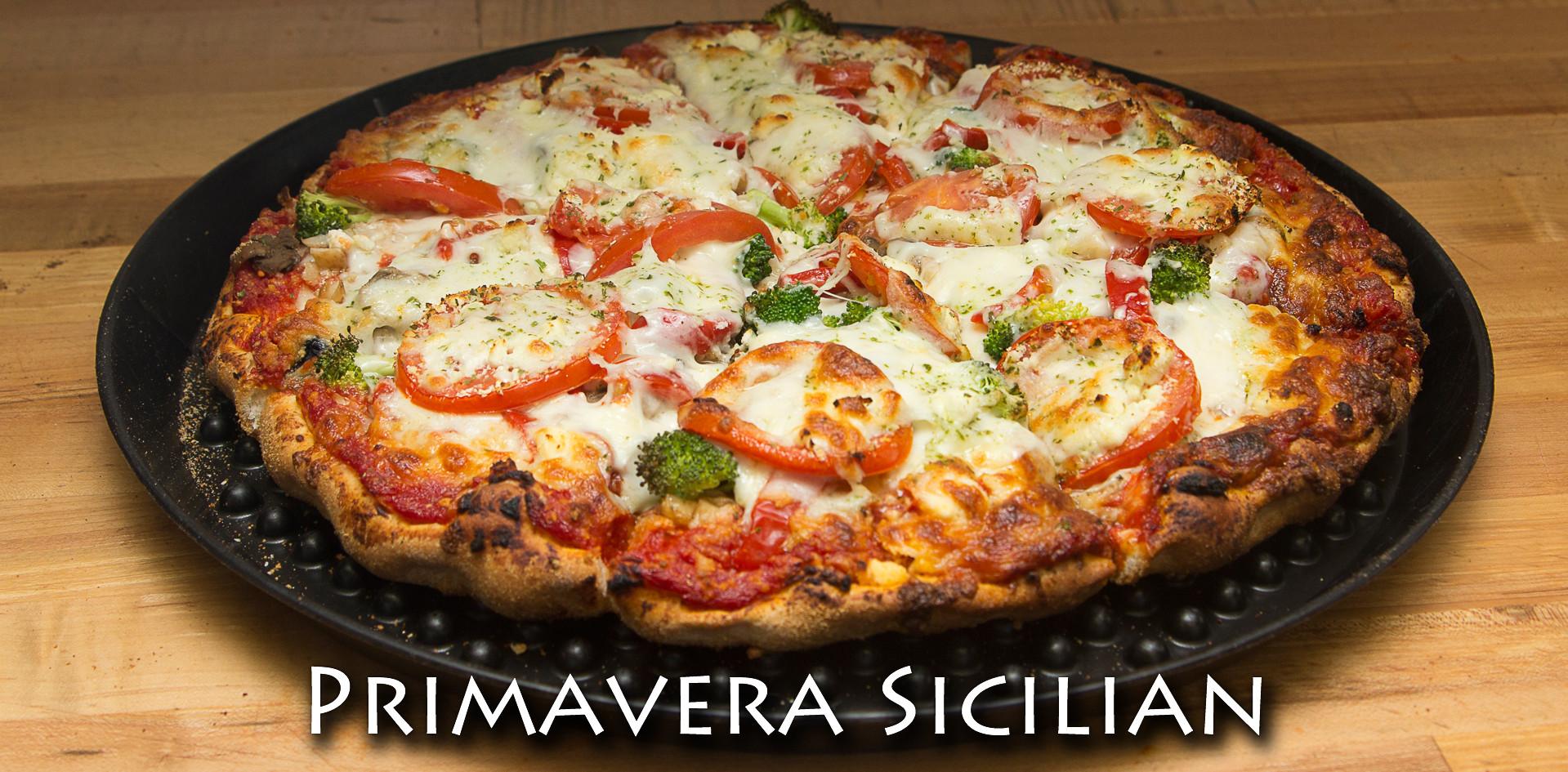 Primavera Sicilian Pizza
