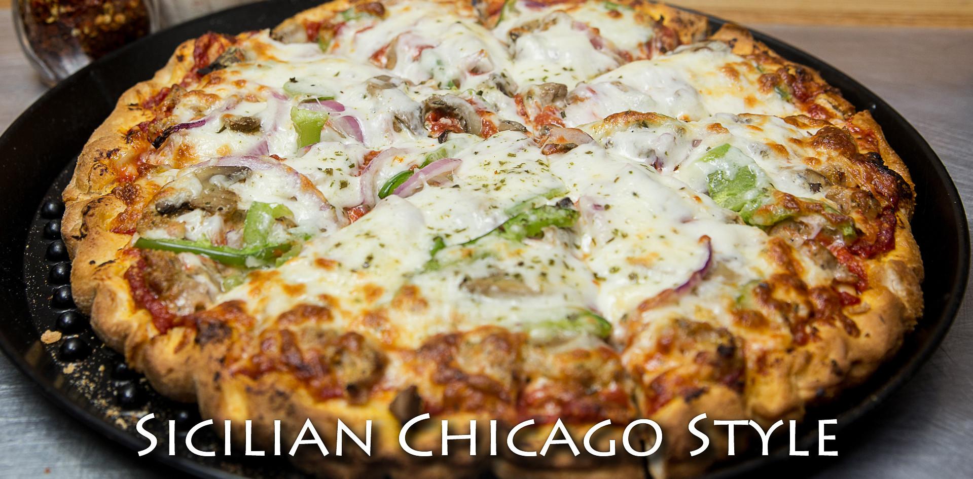 Chicago Style Sicilian Pizza