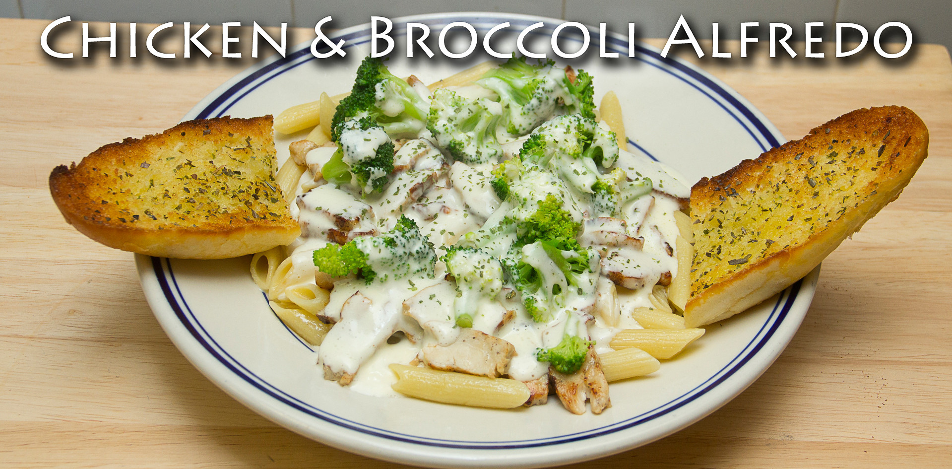 Chicken & Broccoli Alfredo Pasta