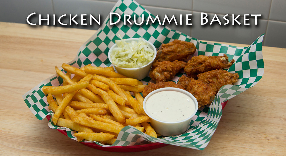 Chicken Drummies and Fries