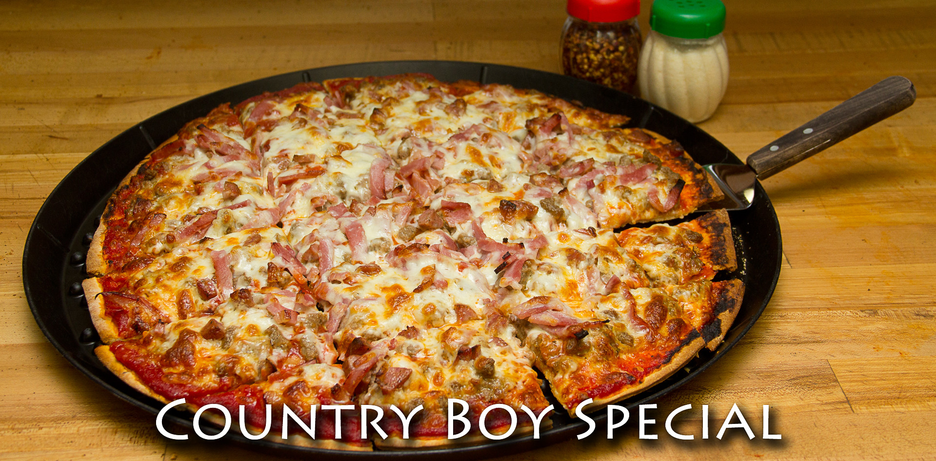 Country Boy Thin Crust Pizza