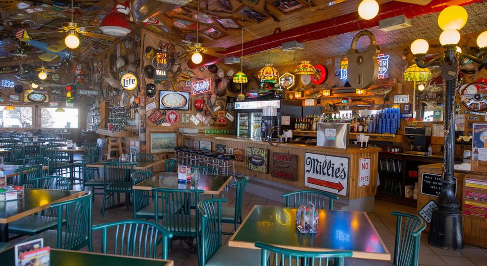 Interior Upper Crust Pizza Restaurant