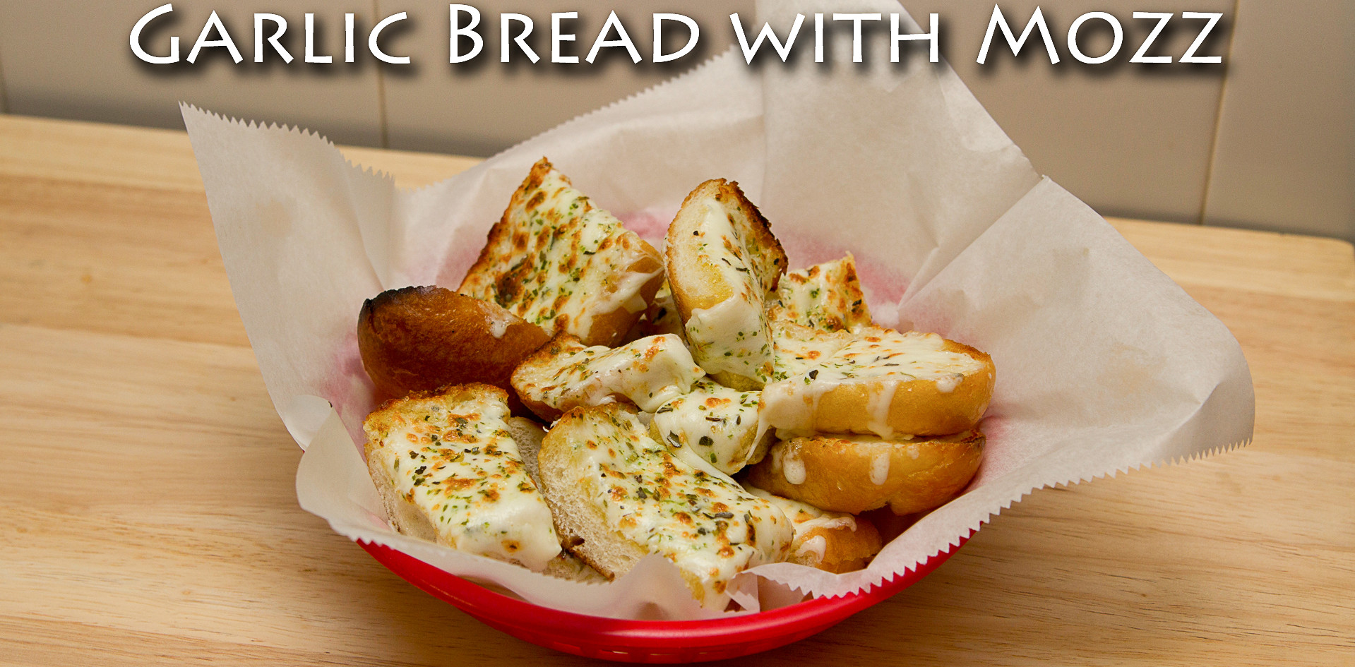 Garlic Bread with Mozzerella