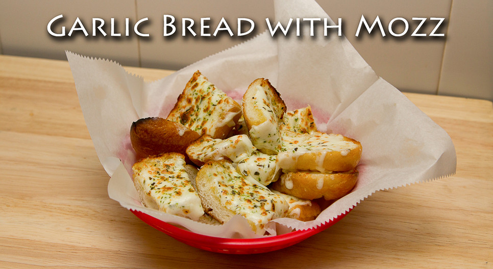 Garlic Bread with Mozzerella