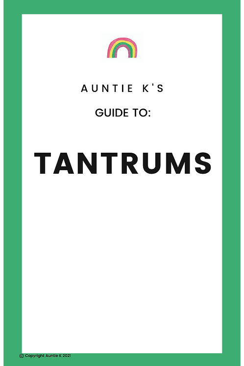 Guide to Tantrums