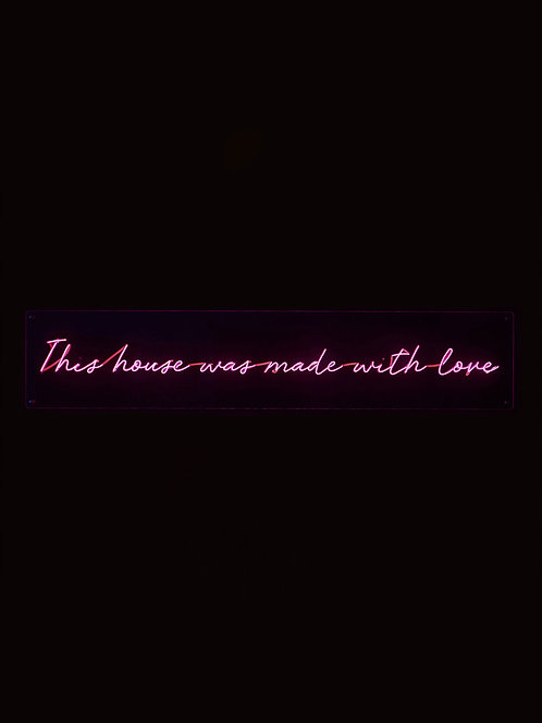This house was made with love