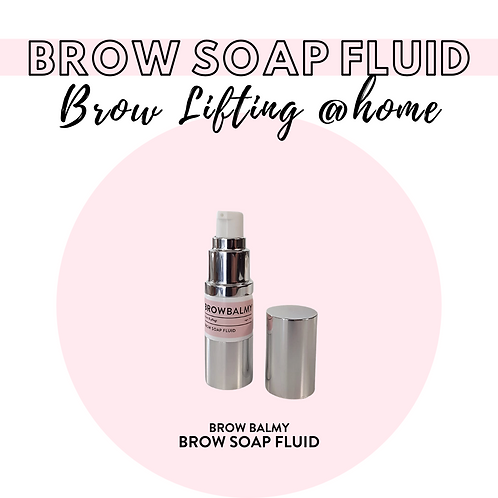 BLASHY BROW BALMY Brow Soap Fluid mit Lakritze - vegan, 50ml