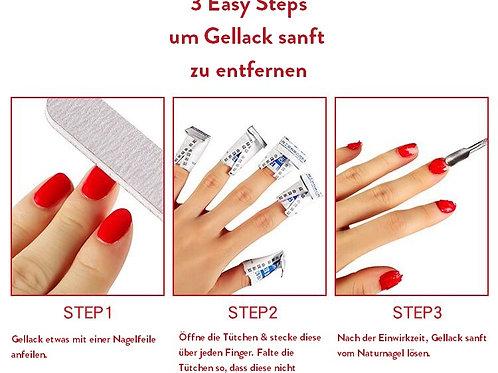 Gel Polish Cleanser Pads - 10 Stück