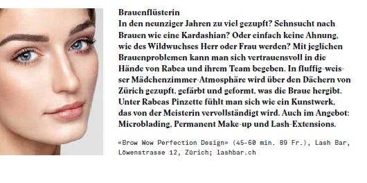 Z Magazin_Brauen_Blashy Bar_Lash Bar