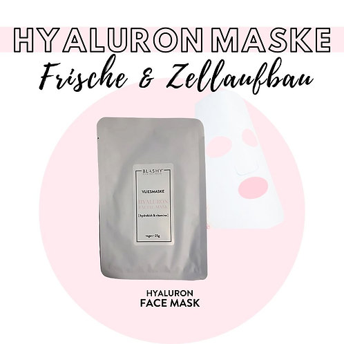BLASHY Hyaluron VliesMaske, 25g