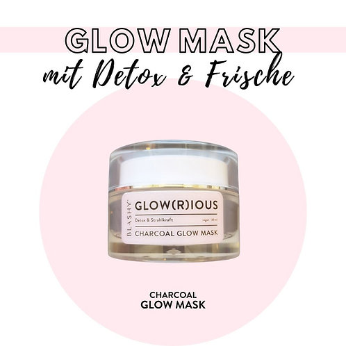 BLASHY Glowrious Gold Face Mask - vegan, 30ml