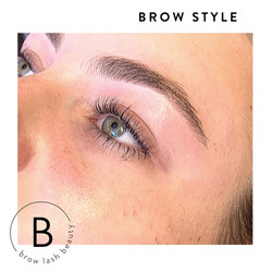 Brow Tint & Style