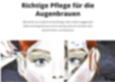 Augenbrauen_Migros Magzin_LashBar